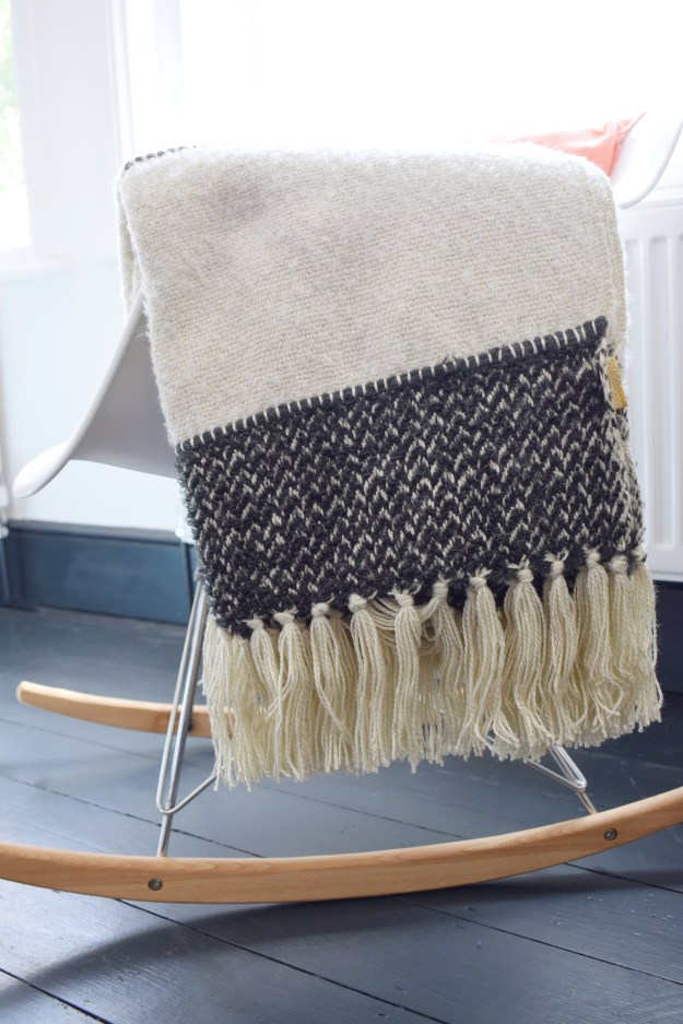 Malagoon Berber bohemian monochrome summer throw