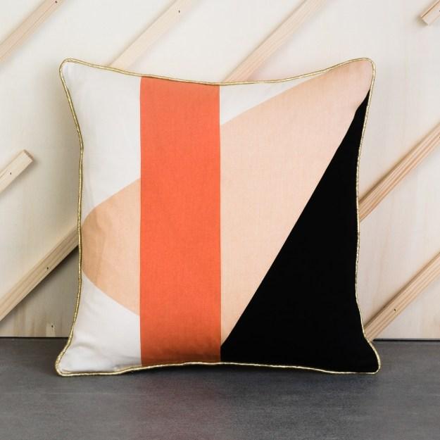 PETITE FRITURE la redoute Delphine Miquel Gio Square Cushion Cover - Copy