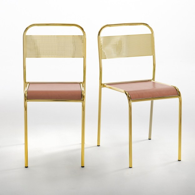 PETITE FRITURE la redoute Set of 2 Delphine Miquel Gio School Chairs