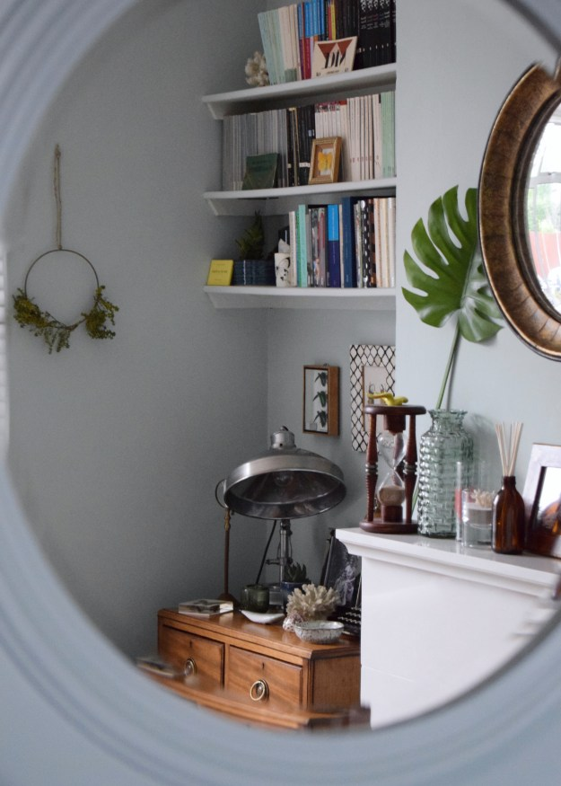 eclectic-modern-bohemian-rustic-vintage-interior-decor-farrow-ball-teresas-summer-style greenery