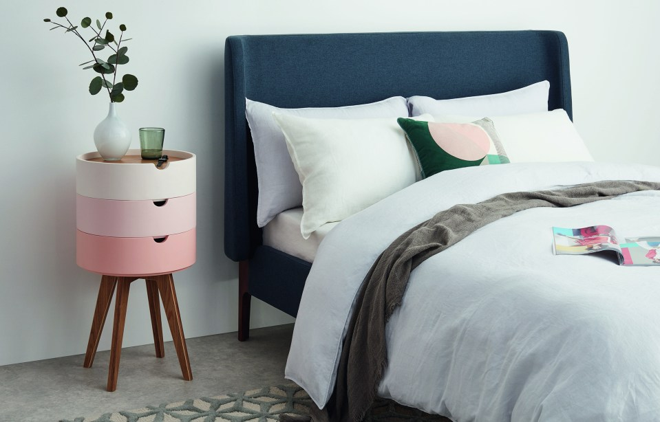 MADE.COM UK_Cairn_Bedside_table_Pink_wes anderson stacking bamboo tray table (2)