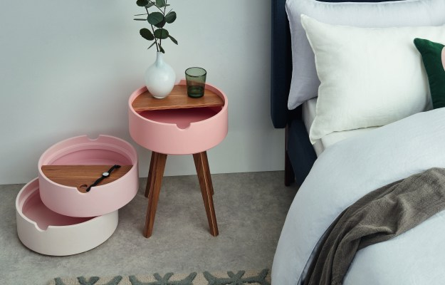 MADE.COM UK_Cairn_Bedside_table_Pink_wes anderson stacking bamboo tray table (3)