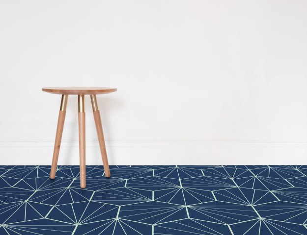 Atrafloor Starburst, Patterned Vinyl Flooring options, ideas and inspiration for interior decor