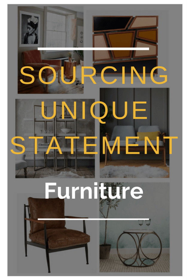 sourcing 5 great independent stores with great unique furniture pieces