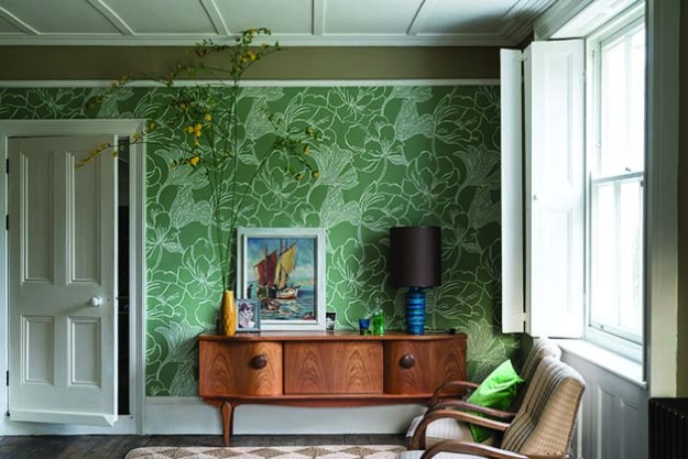Helleborus New Farrow & Ball Wallpaper designs 2017 Floral
