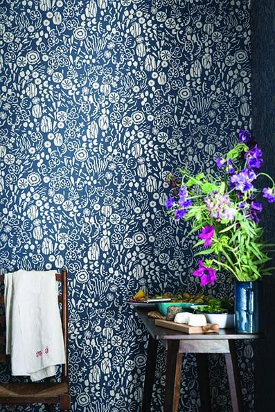 New Farrow & Ball Wallpaper designs 2017 Atacama Floral