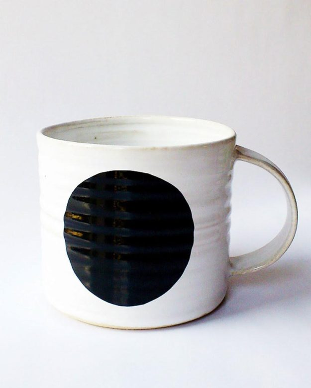 New Store Nordic Kind, Scandinavian Homewares DOT MUG BLACK - COFFEECUP