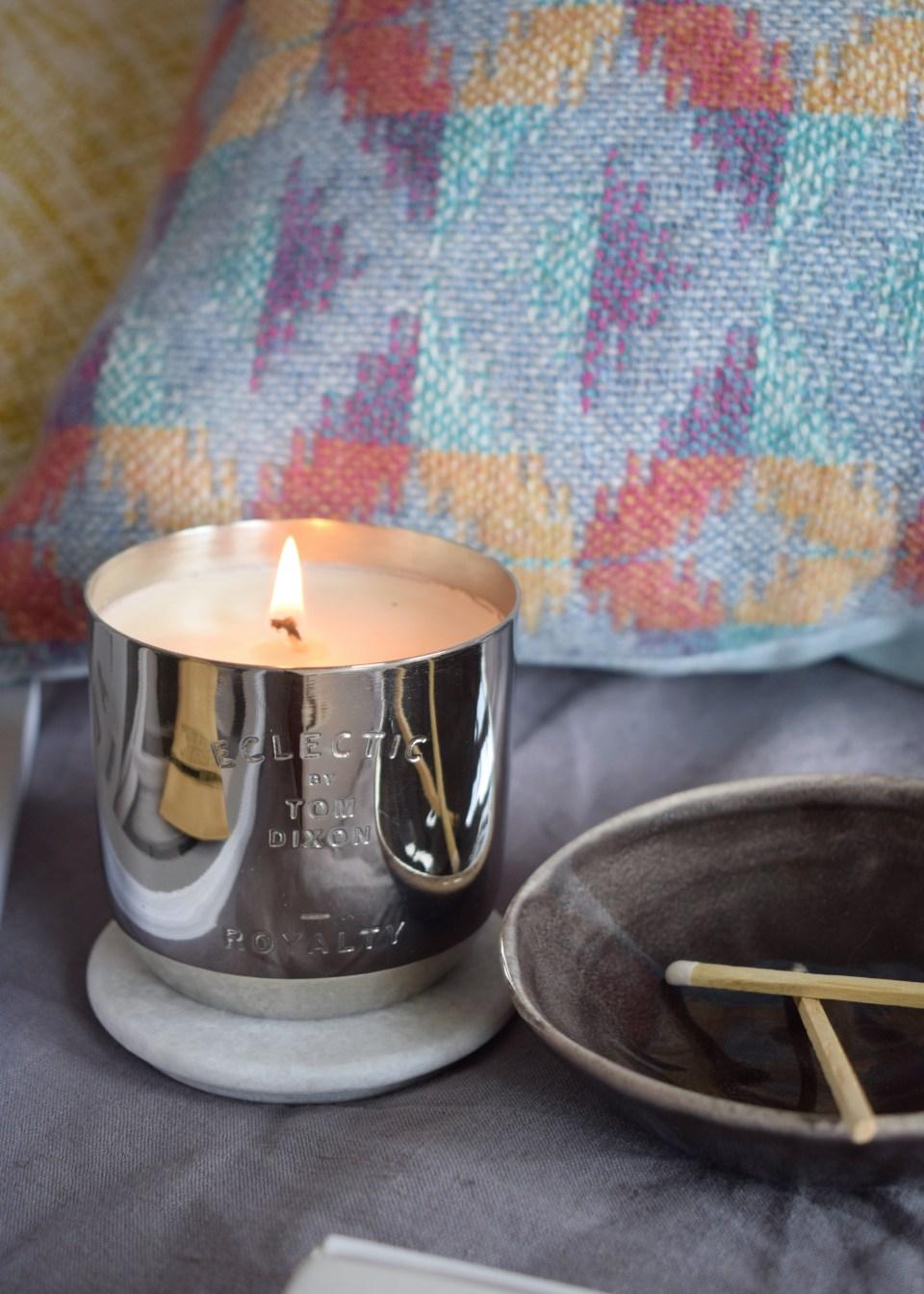 Rowenna Mason Layered geometric woven cushions, colourful artisan design (1)