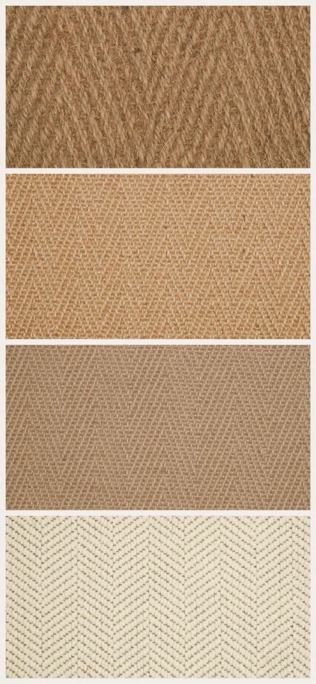 Kersaint Cobb Natural Carpet Herringbone weave