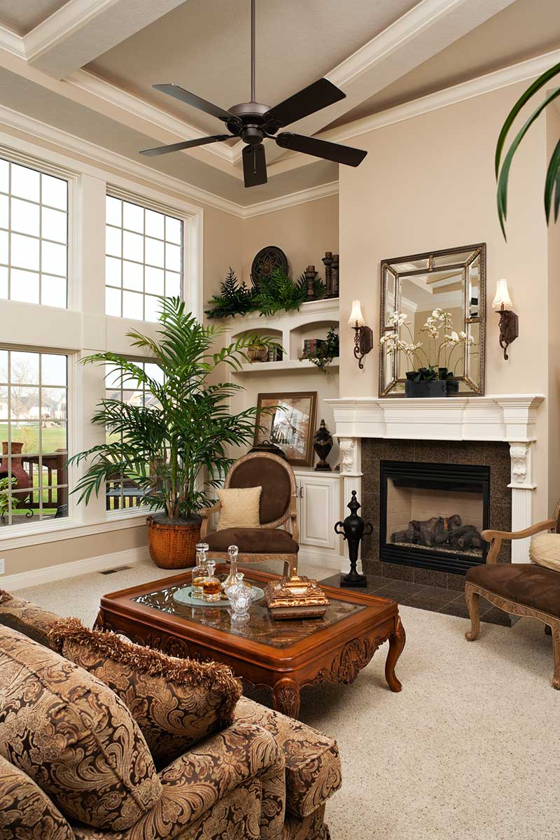 Rustic-living-room-in-residential-home
