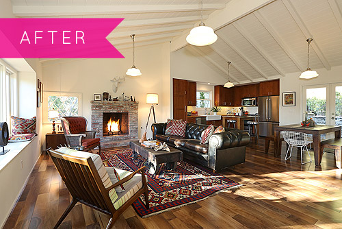 Before & After: A Hollywood Hills Makeover