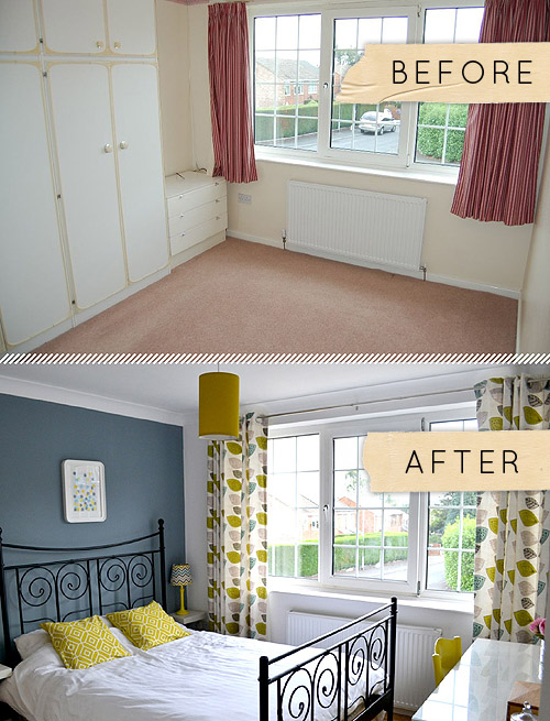 Before & After A Yorkshire Bedroom Goes From Beige To