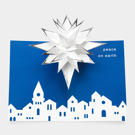 Pop Up Christmas Cards From The MOMA Store Design Squared