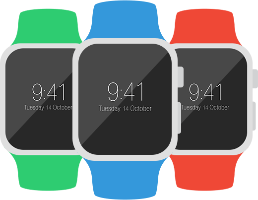 Flat-Apple-Watch-Mockups