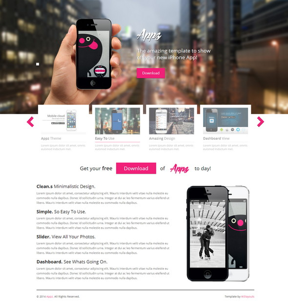 Appz-Website-Template