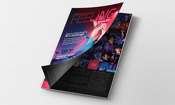 50 Free PSD Magazine, Book, Cover & Brochure Mockups