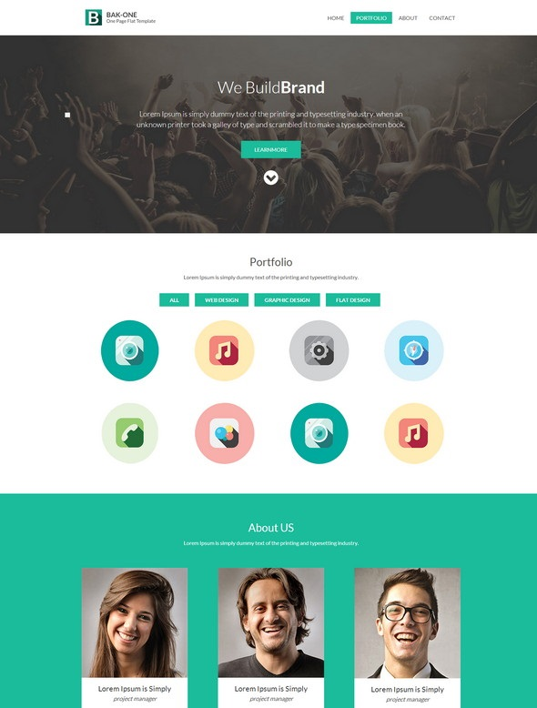 The-Bak-one-Website-Template