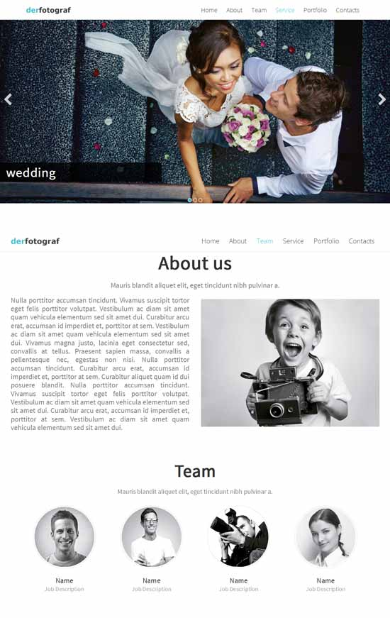 One-Page-Joomla-Template