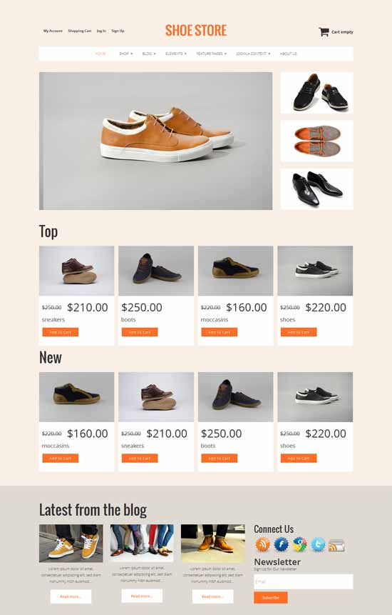 Shoe-Store-Free-VirtueMart-3-template