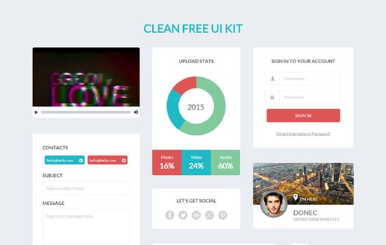 clean_free_ui_kit