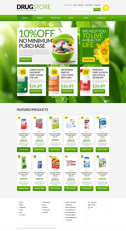 Green-e-Commerce-Themes