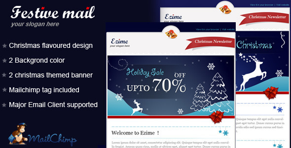 Festive-mail-Christmas-Template