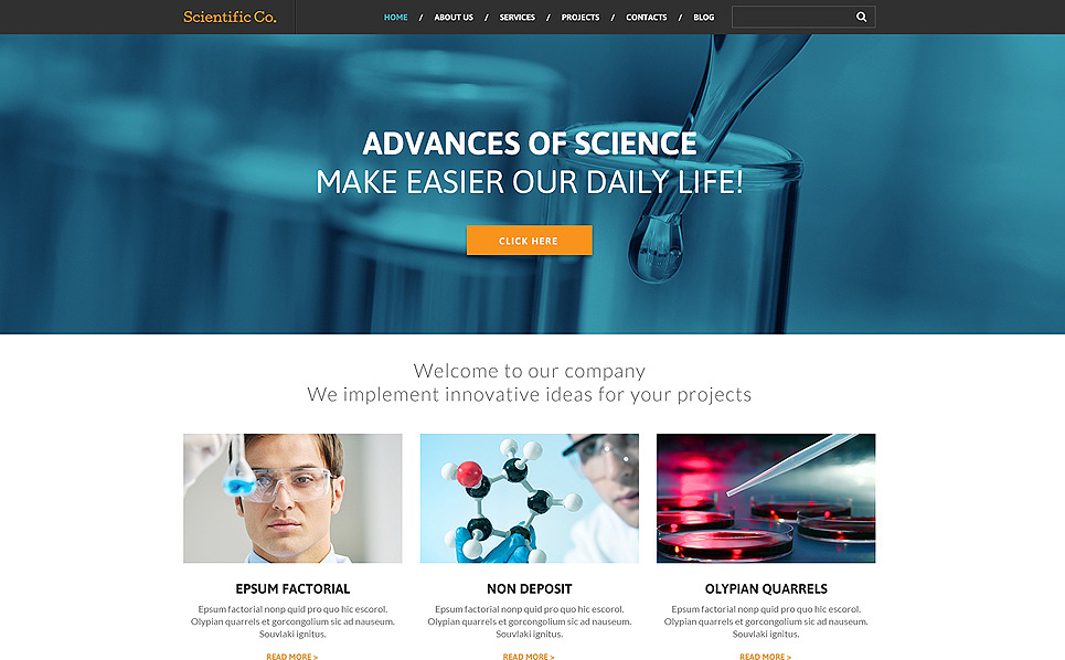 Best-Science-Wp-Themes