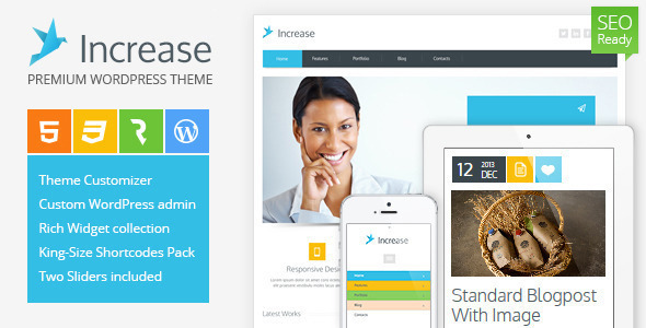 Increase-Premium-wordpress-theme