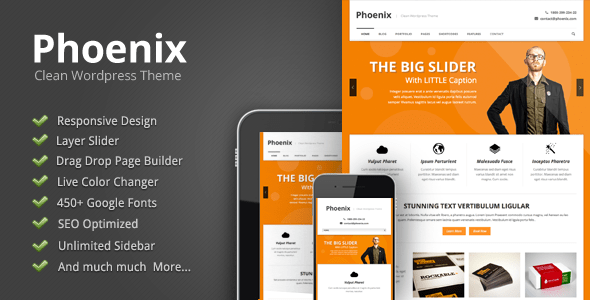Phoenix-Clean-Wordpress-Theme