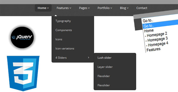 Responsive-Drop-Down-Navigation-Menu