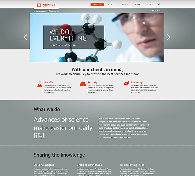Science-Wordpress-Themes