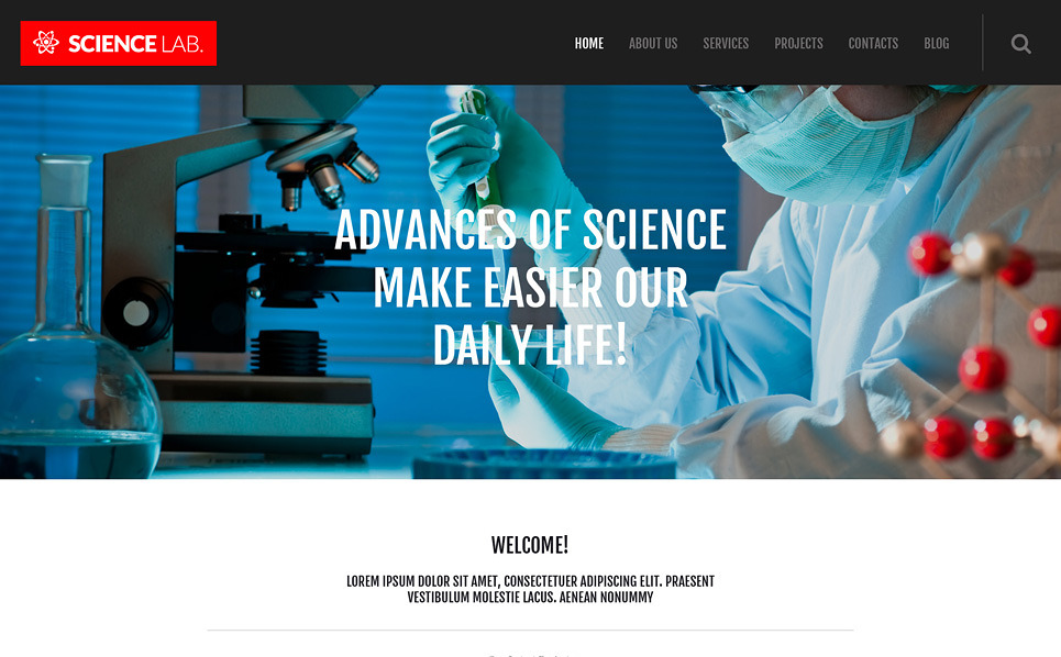 Science-lab-wordpress-theme