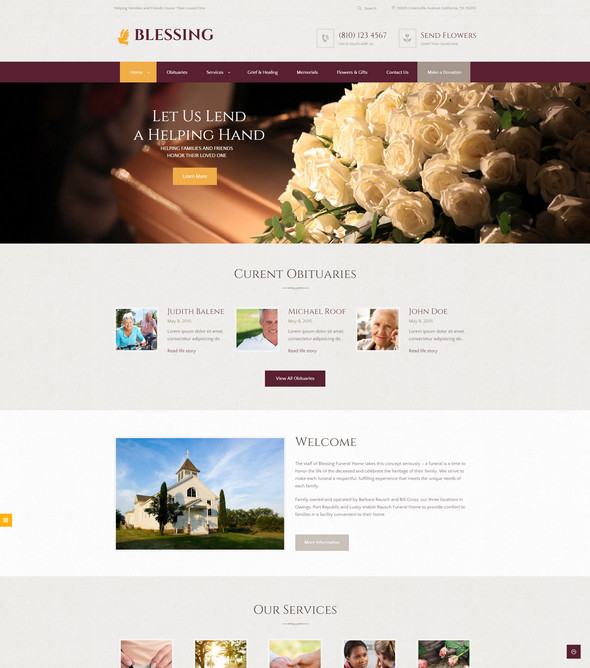 blessing-wordpress-theme