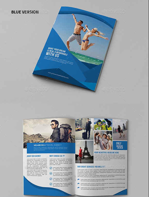Best Travel And Tourist Brochure Templates - Traveling brochure templates