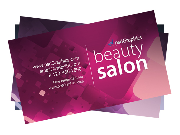 Beauty-business-card-template