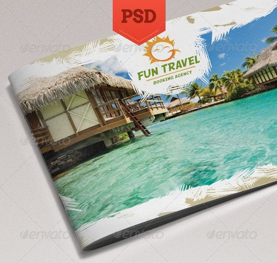 Fun Travel Brochure Template