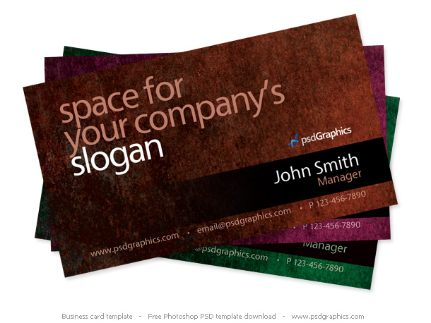 Grunge-business-card-Photoshop-template