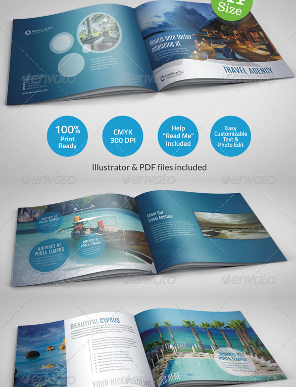agency brochure catalog template