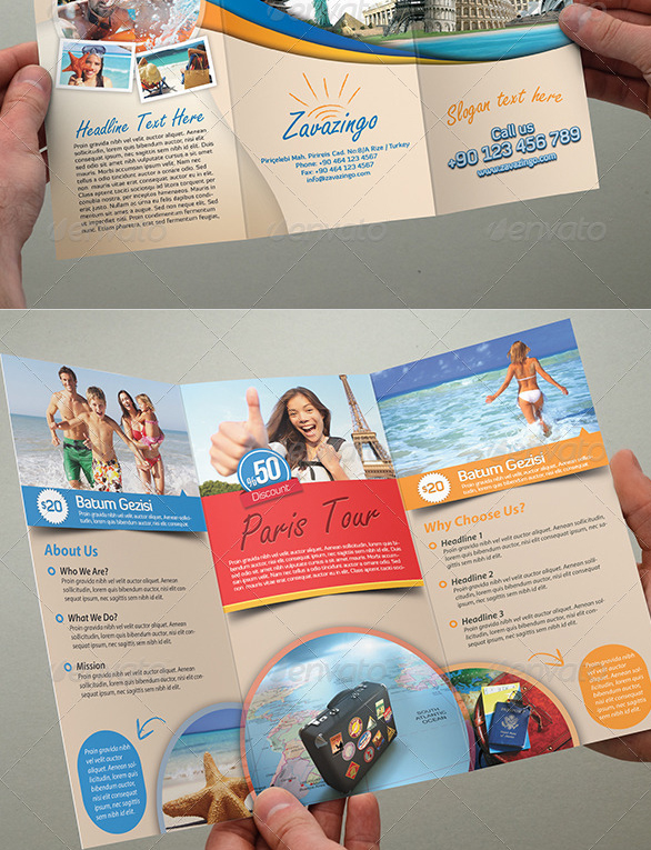 Best Travel And Tourist Brochure Templates