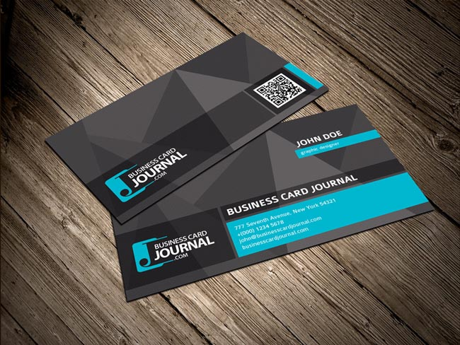 60 best free psd business card templates 2017 cool unique business card template flashek Image collections