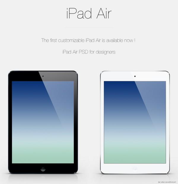 60 Best Free Apple iPad Mockup Templates