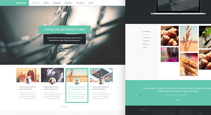 infusion Responsive HTML5 Template