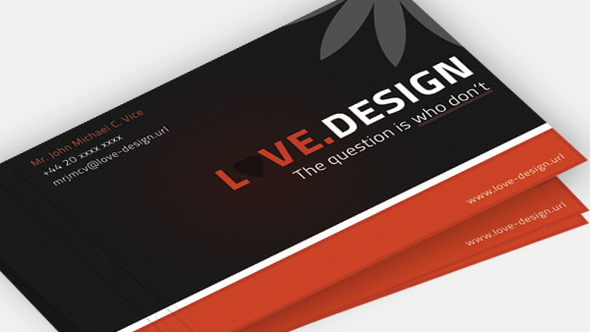 love-design-PSD-business-card-template