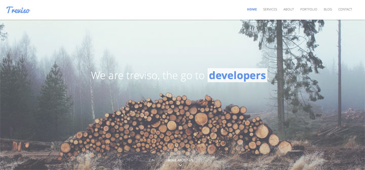 treviso-Responsive HTML5 Template