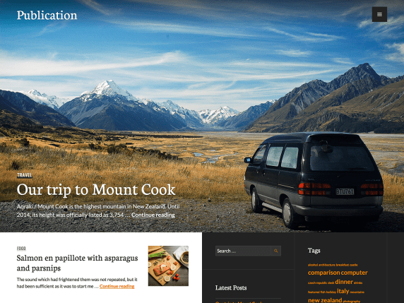 food-article-wordpress-themes