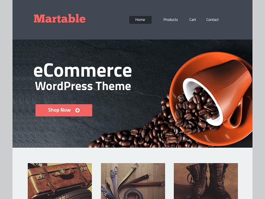 wp ecommerce themes free download
