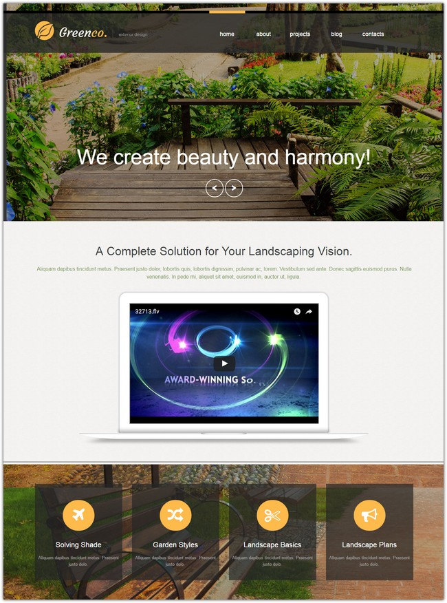 Best Exterior Design Muse Template