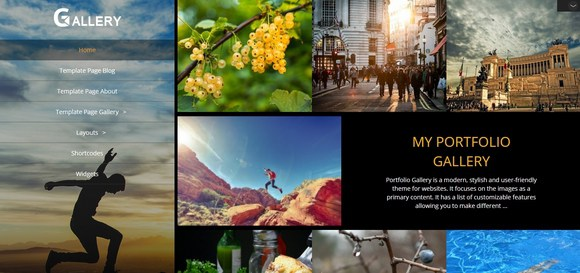 Best free portfolio WordPress themes