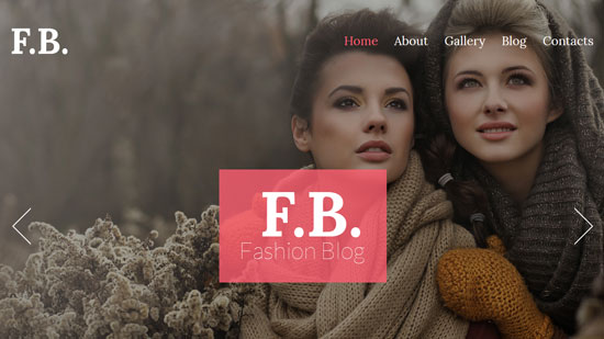 Facebook Fashion Theme