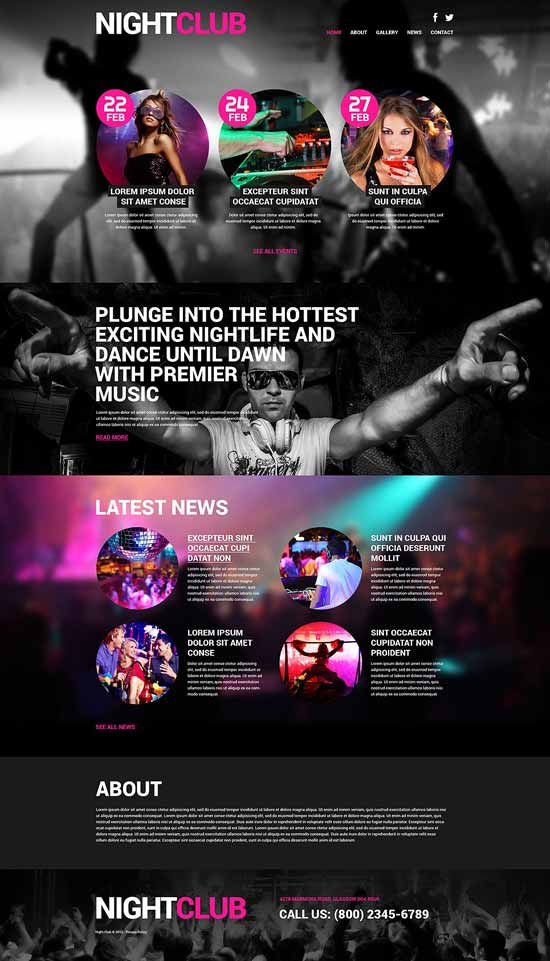 Hd-Euphoria WordPress theme Theme